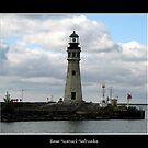Buffalo Main Lighthouse #4 by Rose Santuci-Sofranko