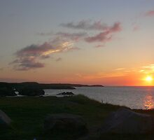Sunrise near the Louisbourg Lighthouse by PhotosByHealy