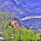 Castle Hohenschwangau by Daidalos