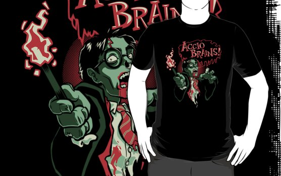 Accio Brains! by Nathan Davis