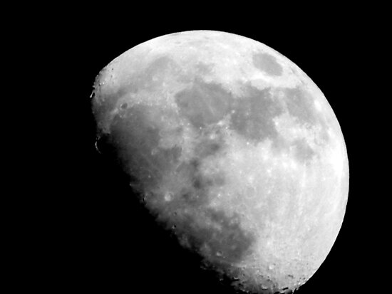 Moon over Milwaukee ©  by Dawn M. Becker