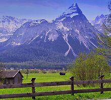 mountainous countryside... by Daidalos