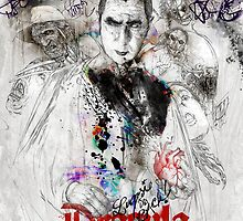 Dracula - Lugosi is back! by hubertfineart
