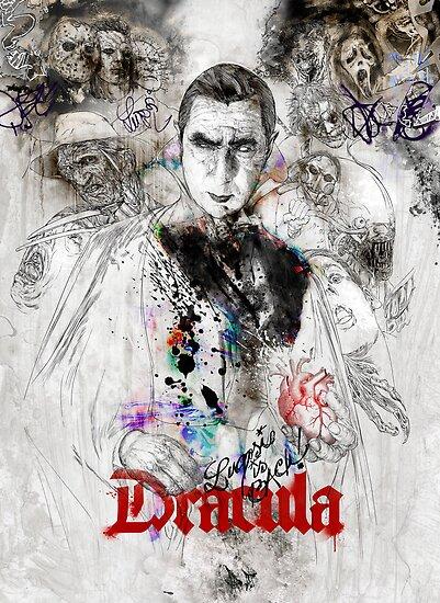 Dracula - Lugosi is back! by hubertfineart