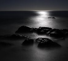 My Backyard is a Vast Expanse of Moonlit Ocean by Photography1804