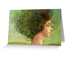 mystic tree Greeting Card