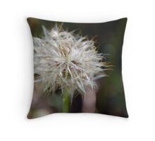 Sitting, waiting Throw Pillow