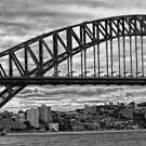 Sydney Harbour Bridge Panorama by sparrowhawk