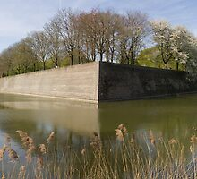 Ypres City Wall by theBFG