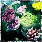 Flowers at the market by robigeehk