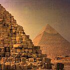 Pyramids at Giza by Mike Matthews