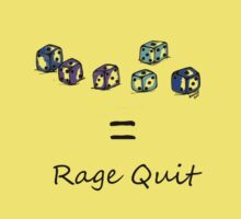 Rage Quit - Light T's by Kirsty Auld
