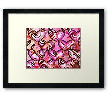 60's Love Framed Print