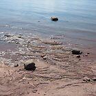 Slated Waters - Lake Michigan by mjparsons