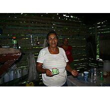 Mrs. Castillo Lopez Photographic Print