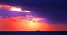 Florida Sunrise - Fort Lauderdale by Debbie Pinard