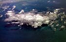 Clouds over the Caribbean by Debbie Pinard