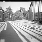 Footbridge at Templestowe by WCurrie