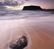 Early Morning Godfreys Beach  by Stephen Gregory