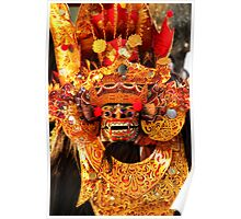 the Majestic Barong - Bali,2010 Poster