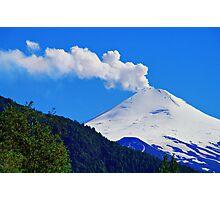 Villarrica Volcano Chile - Explore Feature 02/29/2012 Photographic Print
