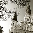 St. Louis Cathedral #3 by Loretta Stephens