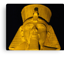 Ramesses the Great Canvas Print