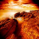 Firey Sky by Andrew (ark photograhy art)