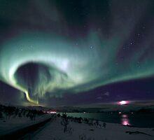 Road wiew by Frank Olsen