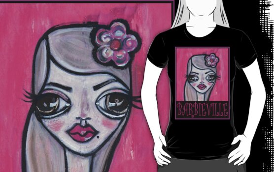 Barbieville Faith Tee by Barbara Cannon  ART.. AKA Barbieville
