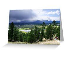 Kootenay Valley and Wetlands Greeting Card