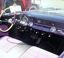 "1956 Pontiac Star Chief"" by Lynn Bawden"