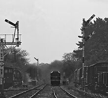 Diesel 2B11 Quorn Station by Graydon Jones