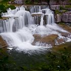 Mini-Waterfall - Taughannock Falls State Park by Murph2010