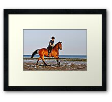 Look at me ! Framed Print