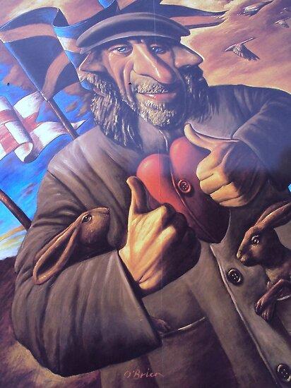 Wall art by Joe O'Brien,Edinburgh by biddumy