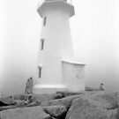Lighthouse at Peggys Cove by Craig  Davies