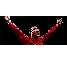 Wayne Rooney by db artstudio Photographic Print