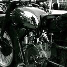 Vintage Moto Guzzi by Lou Wilson