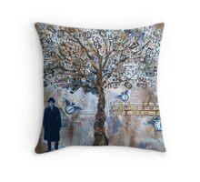 Krysia Morin's 'The Life Tree' Throw Pillow