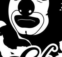 Chez Whitey (Black) Sticker