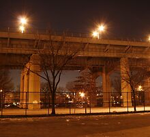 A Bridge in Queens by FarWest