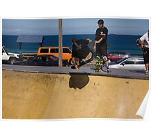 Cracking A Frontside Ollie Poster