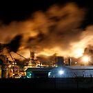Industrial Landscape  by FarWest