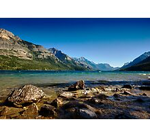Looking to America, Waterton Lakes NP, Canada Photographic Print