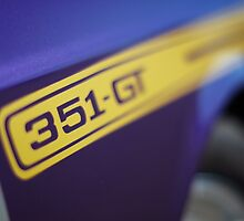 Purple Ford Falcon XY GT 351 by John Jovic