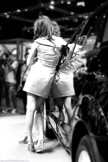 Angels - Bangkok Motorshow models by vanyahaheights