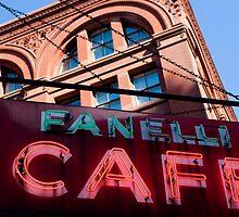 Fanelli Cafe by Dave Bledsoe