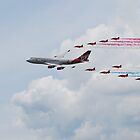 Virgin 747 & Red Arrows - 25 Years 2 by jabisfab