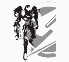 Metroid - Samus Aran Silhouette by Animenace